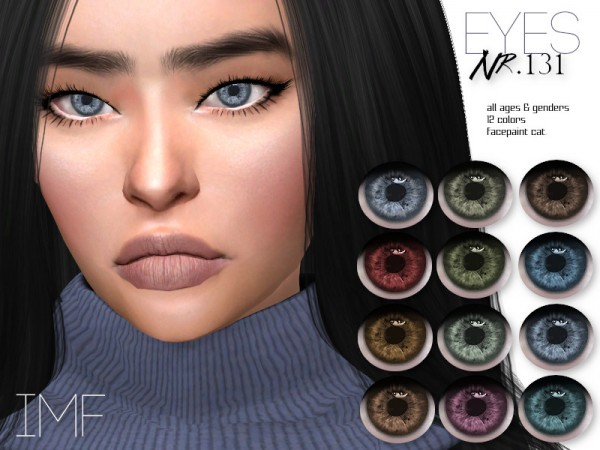 The Sims Resource: Eyes N.131 by IzzieMcFire