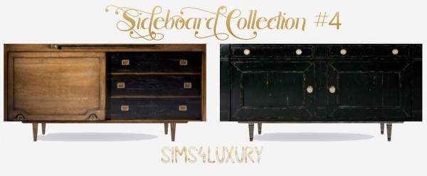 Sims4Luxury: Sideboard Collection 4
