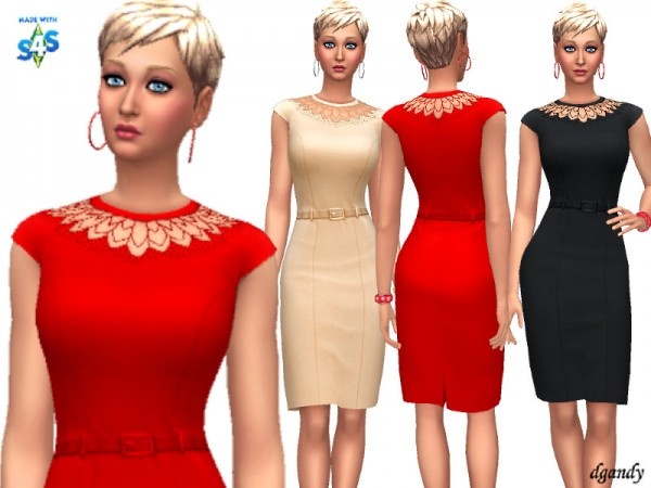 The Sims Resource: Dress 20200114 by dgandy