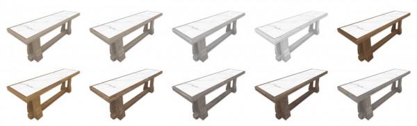 Simplistic: RH High Long Dining Table