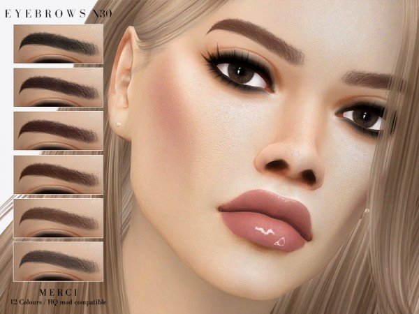 The Sims Resource: Eyebrows N30 by Merci