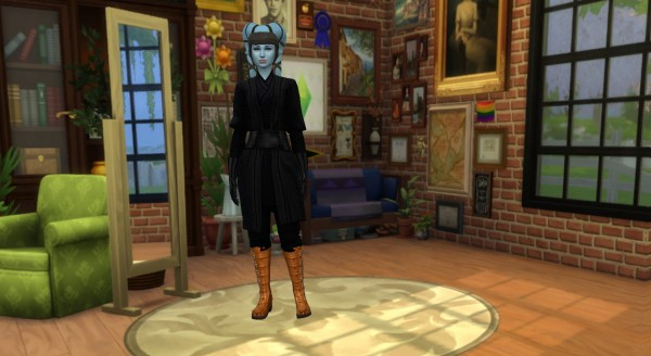 Mod The Sims: Star Wars Darth Maul Robe Recolors by Wanderflame