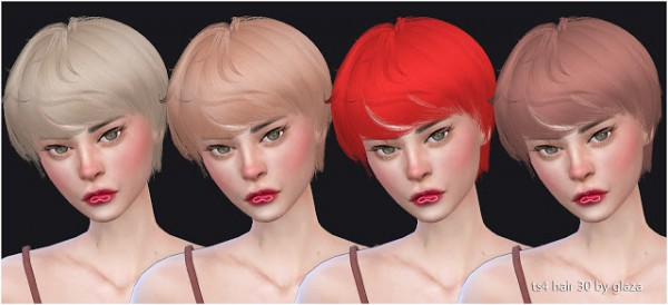 All by Glaza: Hair 30
