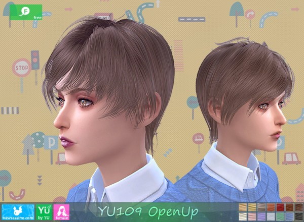 NewSea: YU109 OpenUp free hairstyle