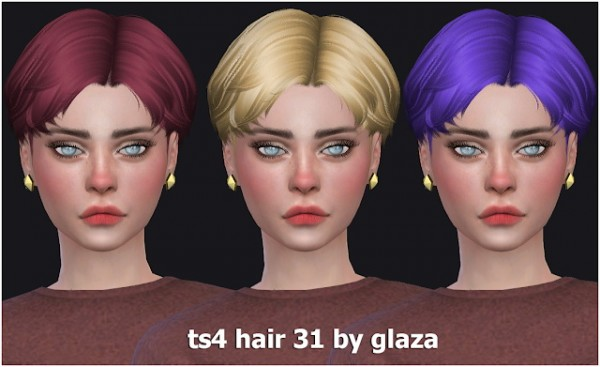 All by Glaza: Hair 31
