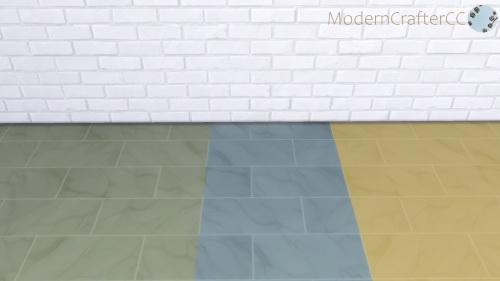 Modern Crafter: Polished Marble Tile Recolour
