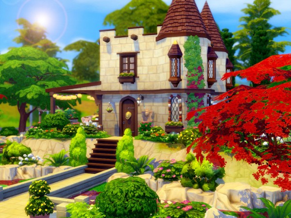 The Sims Resource: Tiny Castle   Nocc by sharon337