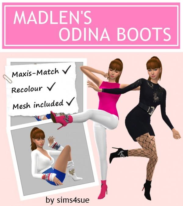 Sims 4 Sue: Madlen`s Odina Boots