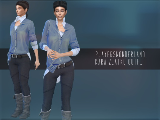 Players Wonderland: Kara Zlatko Outfit and Shoes