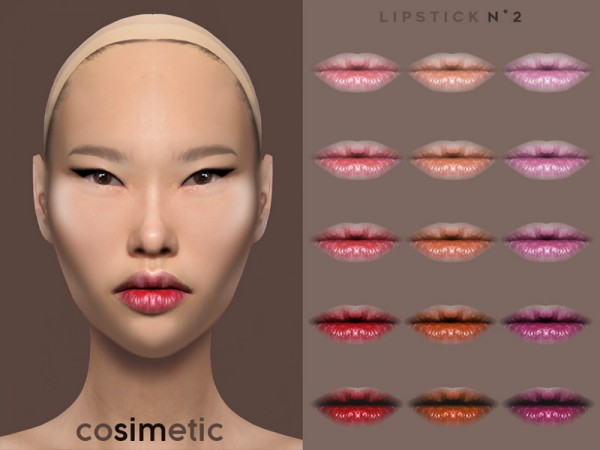The Sims Resource: N2 Lipstick by cosimetic