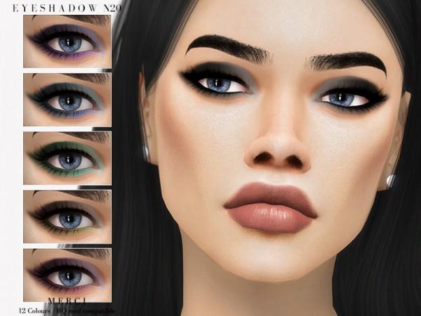 The Sims Resource: Eyeshadow N20 by Merci