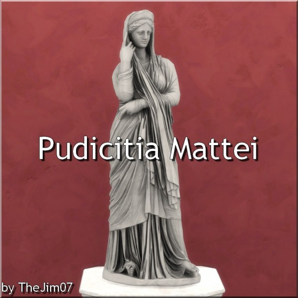 Mod The Sims: Pudicitia Mattei by TheJim07