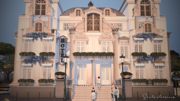 Ideassims4 art: 109 Hotel Paris La Fayette Living