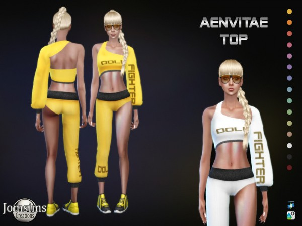 The Sims Resource: Aenvitae Top by jomsims