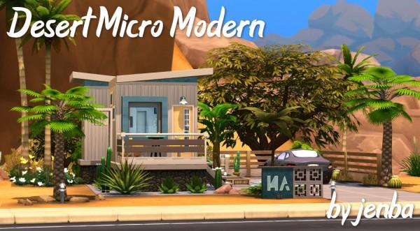 Jenba Sims: Desert Micro Modern