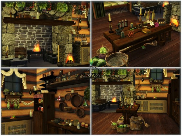 The Sims Resource: Frasers House   Outlander by nobody1392