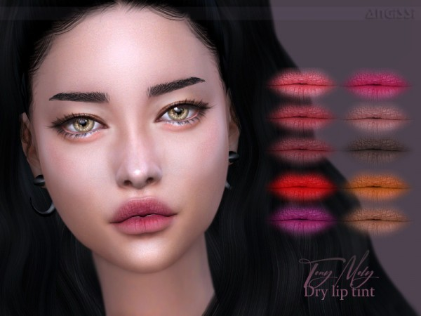 The Sims Resource: Tony Moly Dry lip tint by ANGISSI