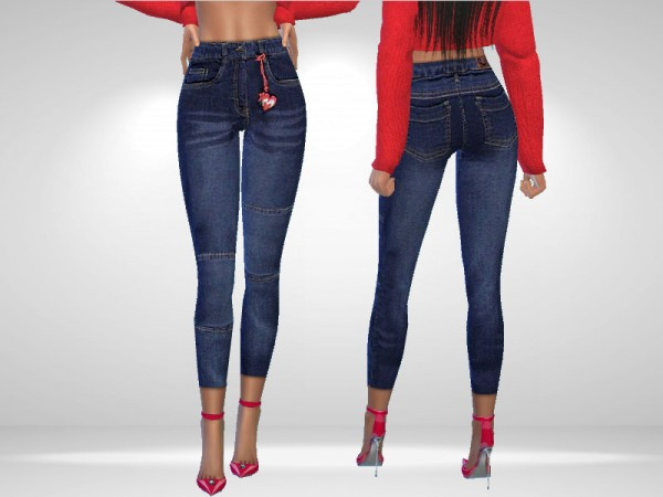 The Sims Resource: Nostalgic Jeans by Puresim