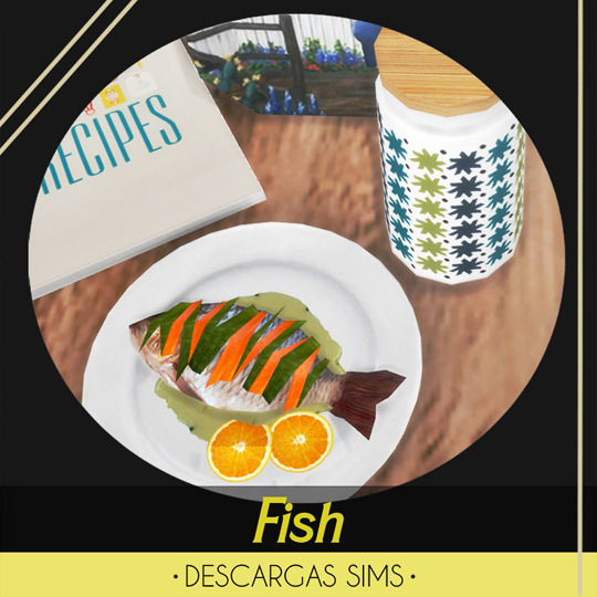 Descargas Sims: Fish Decorative