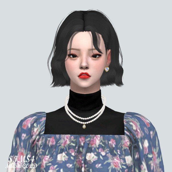 SIMS4 Marigold: Lovely 2 Pearl Necklace