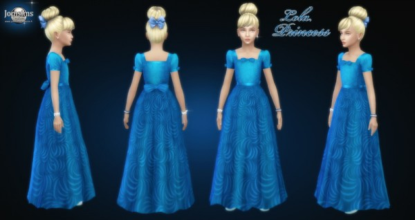 Jom Sims Creations: Lola Princess dress