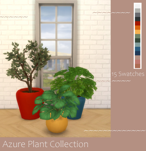 Modern Crafter: Azure Plant Collection
