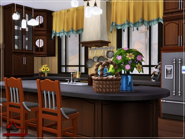 The Sims Resource: Wrzos House   No CC by marychabb