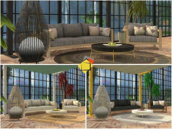 The Sims Resource: Elmwood Outdoor Living by Onyxium
