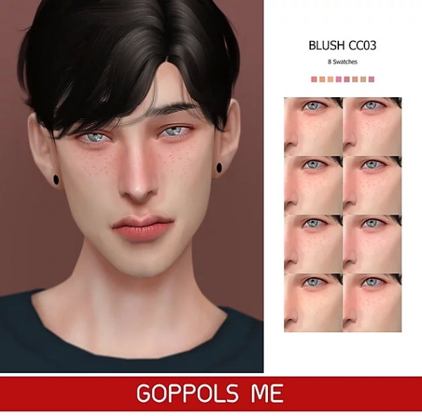 GOPPOLS Me: Gold Blush CC03