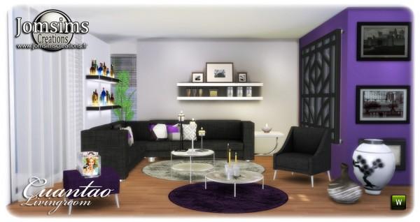 Jom Sims Creations: Cuantao Livingroom