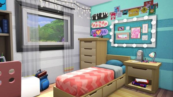 Aveline Sims: Off Campus tiny Party House