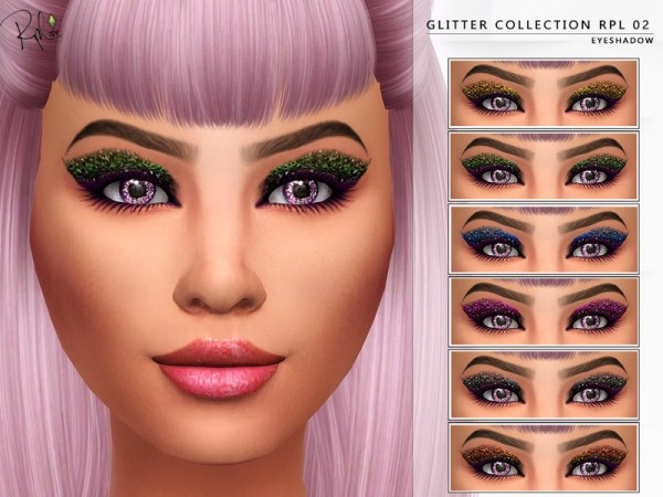 The Sims Resource: Glitter Collection RPL02 by RobertaPLobo