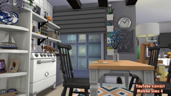 Sims 3 by Mulena: Scandinavian apartment