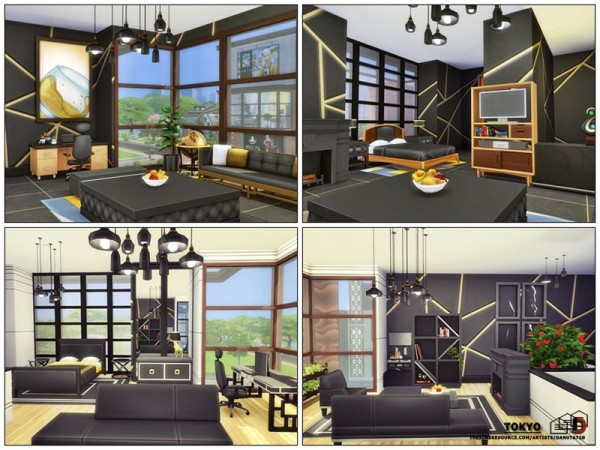 The Sims Resource: Tokyo House by Danuta720