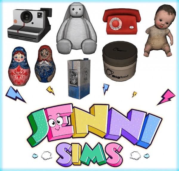 Jenni Sims: Clutter Decorative (7 Items)