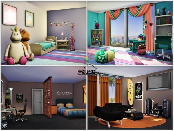 The Sims Resource: Ingrid  House (No CC!) by nobody1392