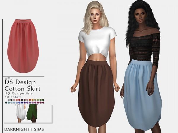The Sims Resource: Design Cotton Skirt by DarkNighTt