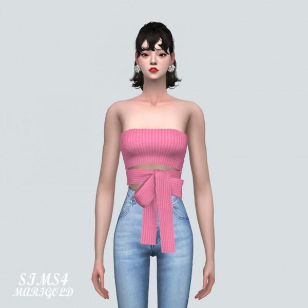 SIMS4 Marigold: Ribbon Crop Bustier