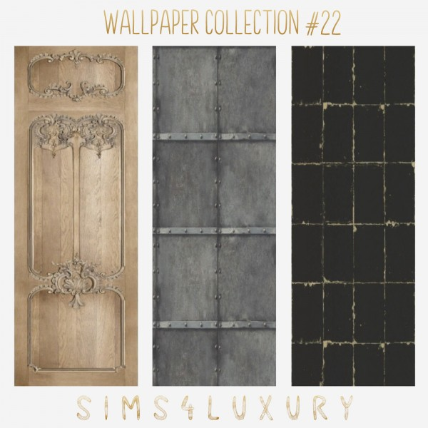 Sims4Luxury: Floor collection 39 and wall collection 22