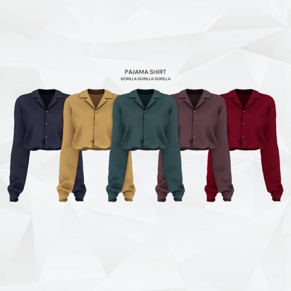 Gorilla: Pajama Shirt