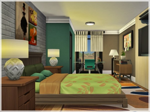 The Sims Resource: Edurne House by Ray Sims