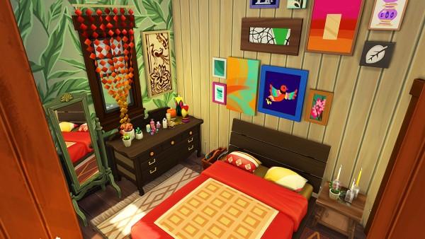 Aveline Sims: Hippie familys tiny house 2