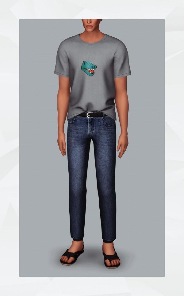 Gorilla: Belted jeans