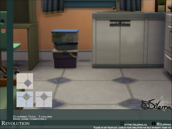 The Sims Resource: Revolution tiles by Silerna