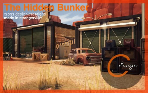 Cross Design: The Hidden Bunker