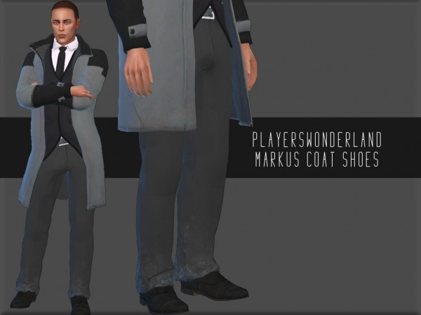 Players Wonderland: Markus Coat and Shoes