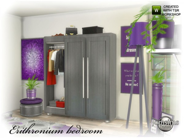 The Sims Resource: Erithronium bedroom part 2 by jomsims