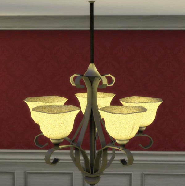 Mod The Sims: Madrid Chandelier  by Icy Lava