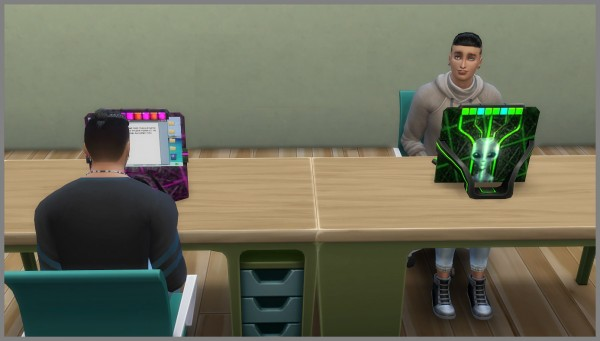 Mod The Sims: Alien Computer by hippy70