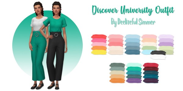 Deelitefulsimmer: Discover University Outfit